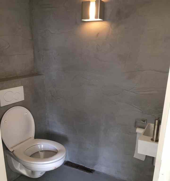 Nobello wand betonlook donker grijs