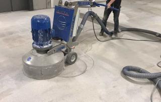 Schuren betonvloer met Nobello