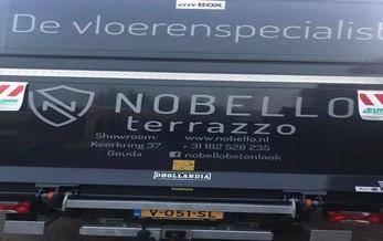 Belettering auto Nobello
