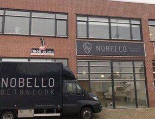 Showroom Nobello bijna klaar