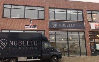 showroom Nobello Betonlook