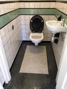 Terrazzo vloer toilet
