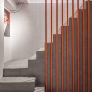 Terrazzo trap aan huis