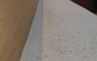 Traptrede bekleed met Terrazzo vloer